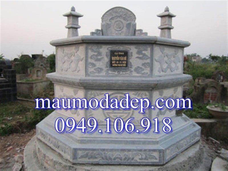 Mộ đá bát giác 004, mộ đá hình bát giác, mộ đá