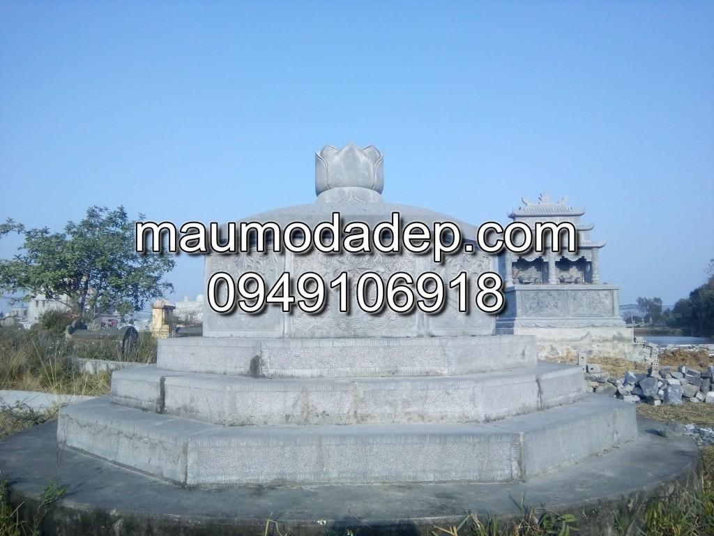 mộ đá bát giác 001, mộ đá hình bát giác, mộ đá