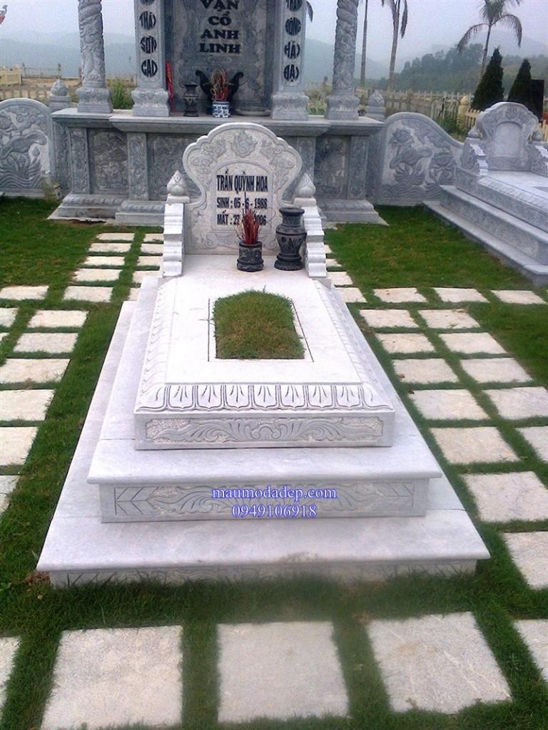 Xem hướng xây mộ đẹp, làm mộ đá