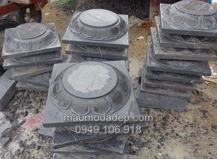 Bán mẫu chân tảng đá đẹp kê cột gỗ