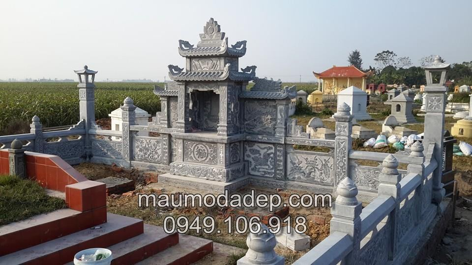 Các mẫu lăng mộ đá đẹp đơn giản Ninh Bình