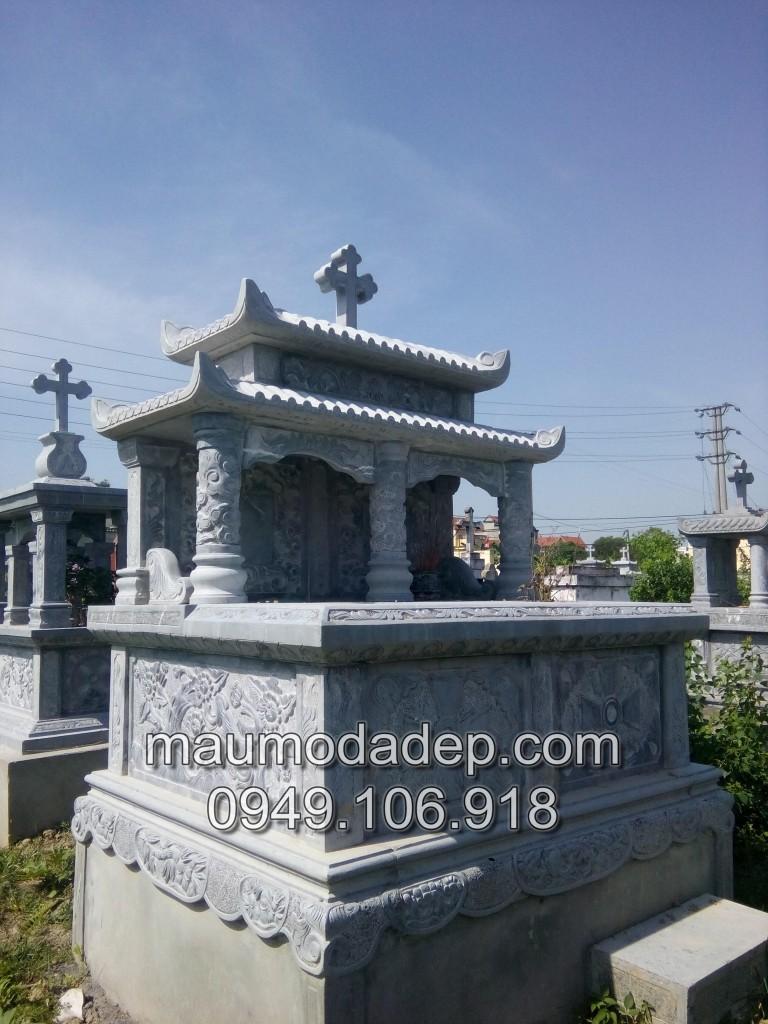 mộ đá công giáo, mộ công giáo đá