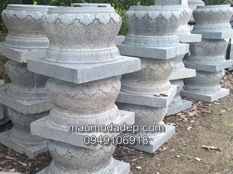 Chân tảng đá kê cột nhà gỗ