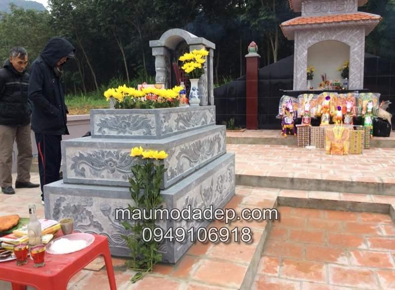 Lắp đặt mộ đá tại Thọ Xuân Thanh Hóa
