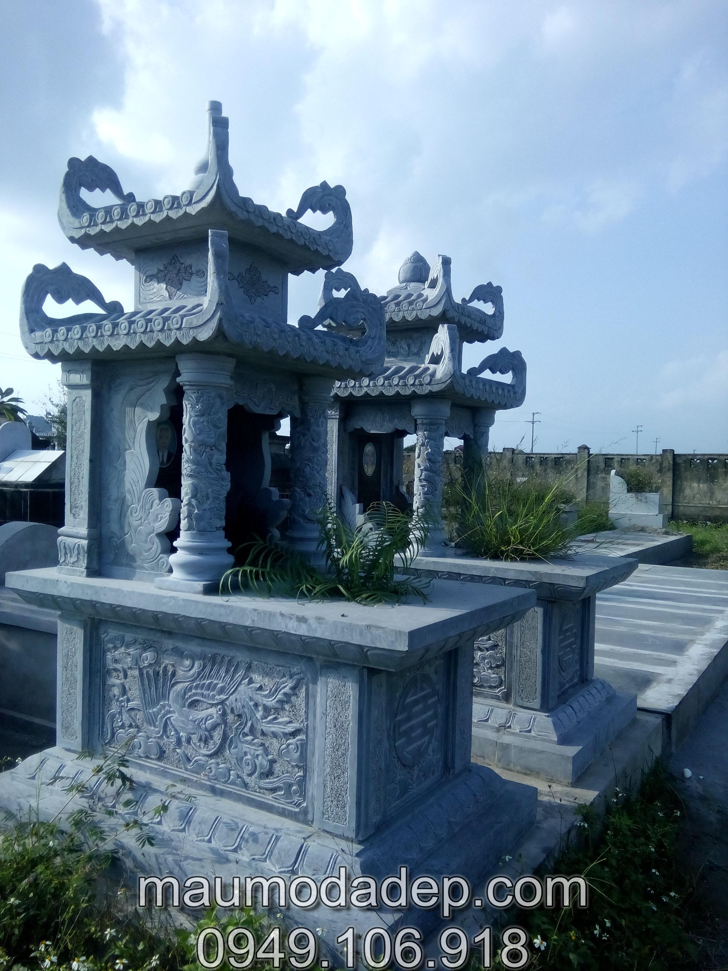 Nhận làm công trình lăng mộ đá tại Nghệ An