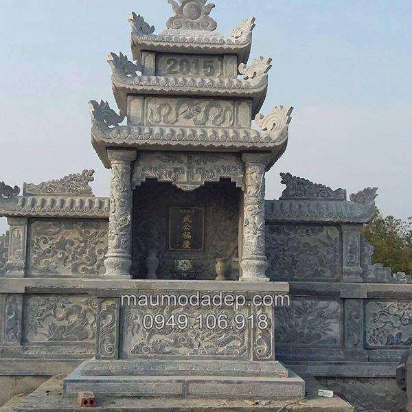 Làm lăng mộ đá đẹp ở Hà Tĩnh