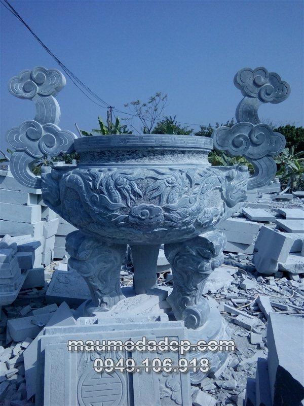 Địa chỉ bán mẫu lư hương đá tại Ninh Bình