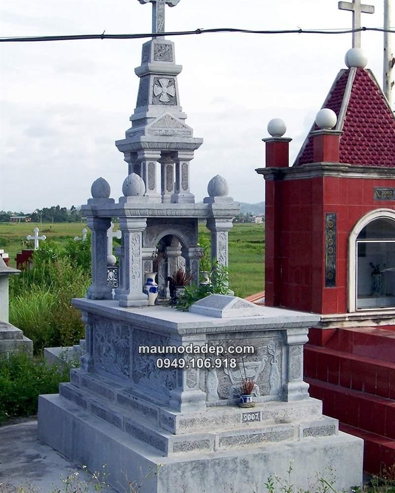 mẫu mộ tháp đá, mộ tháp đá