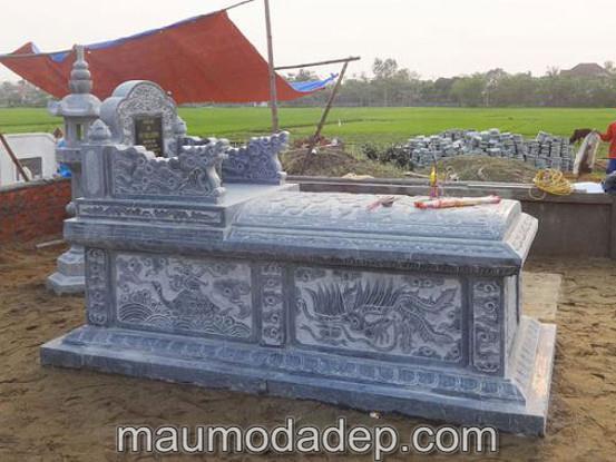 Mẫu mộ đá Ninh Bình mới