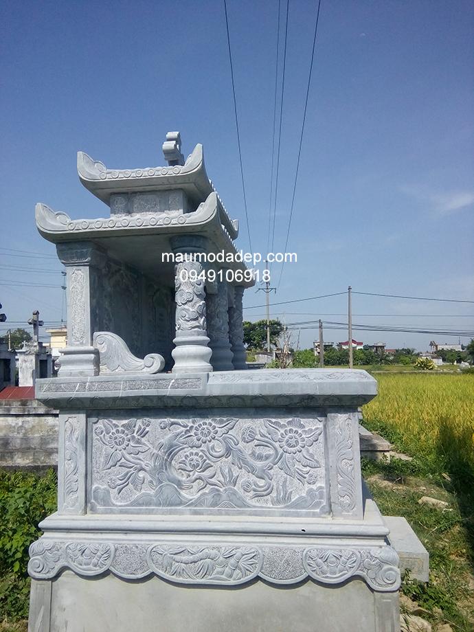 Mẫu mộ đá công giáo đẹp 004