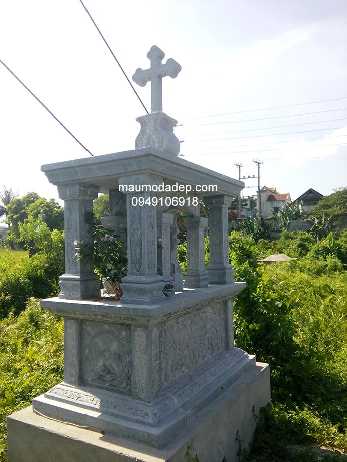 Mẫu mộ đá công giáo 009