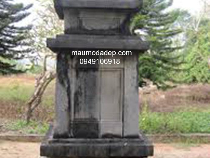 Mẫu mộ đá tháp đẹp 003