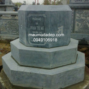 Mẫu mộ đá bát giác đẹp 010