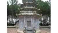 Mẫu mộ đá tháp đẹp 009