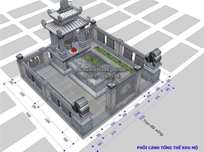 Kích thước xây mộ
