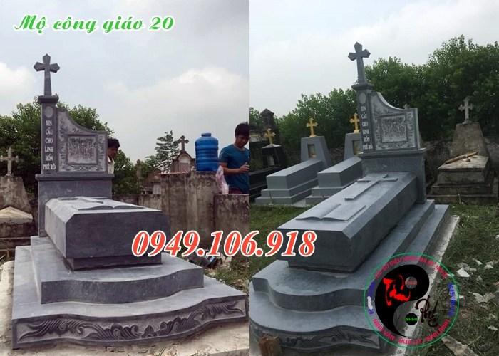 Mẫu mộ đá công giáo đẹp ở Việt Nam