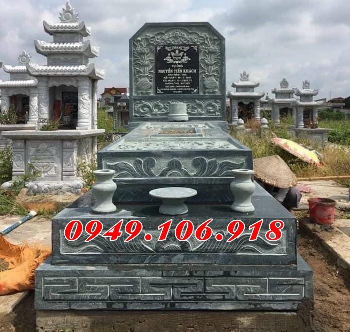 Mẫu mộ đẹp đơn giản, mộ tam sơn, mộ hậu bành