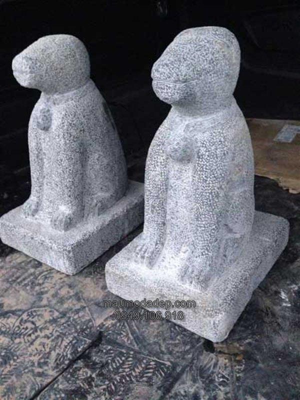 mẫu chó đá 001,chó đá,chó bằng đá