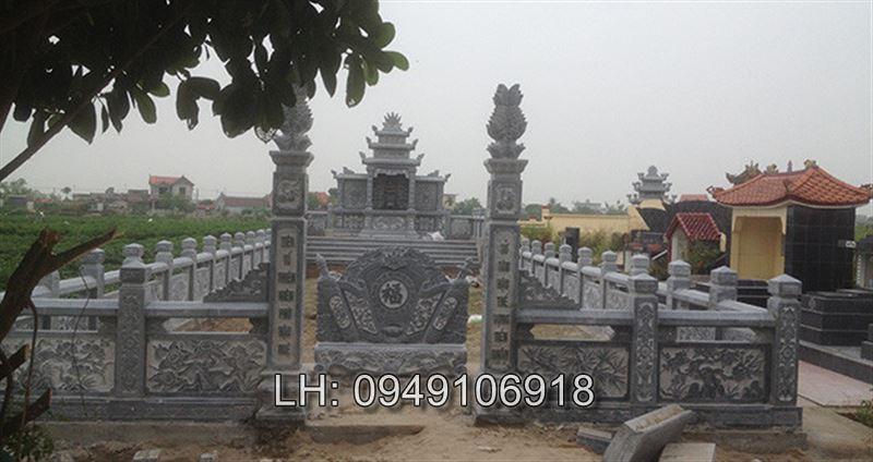 mẫu khu lăng mộ tổ đẹp
