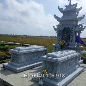 Mẫu mộ đá công giáo 011
