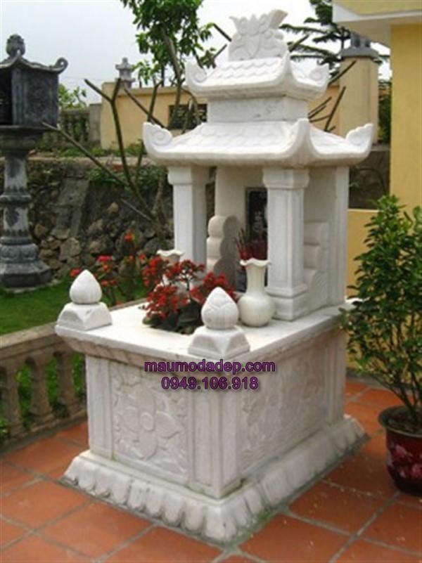 mộ đá trắng,mẫu mộ đá trắng