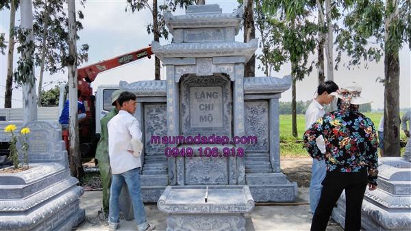 lăng mộ đá xanh,xây dựng lăng mộ ở hưng yên
