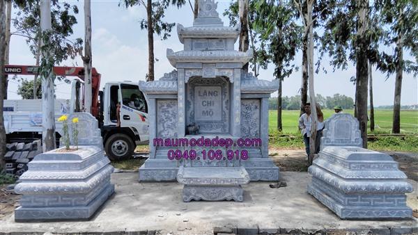 Xây dựng lăng mộ ở Hưng Yên