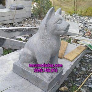 chó phong thủy,chó đá phong thủy