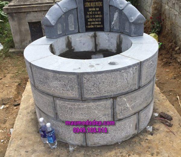 Xây dựng mộ đá tròn ở Hàm Rồng-Thanh Hóa