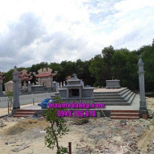 Xây dựng lăng mộ đá tại Huế