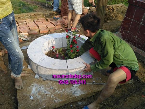 Xây dựng mộXây dựng mộ đá tròn ở Thanh Hóa đá tròn ở Thanh Hóa