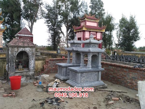 Cơ sở làm mộ ở Tây Tiến-Thái Bình