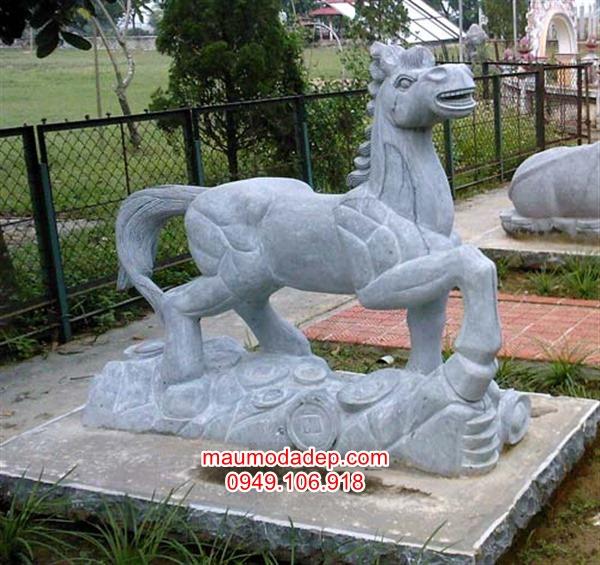 ngựa đá,tượng ngựa đá