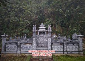 Mẫu cổng khu mộ gia đình