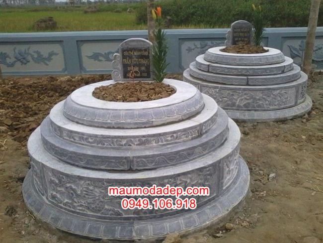 Mẫu mộ hình tròn