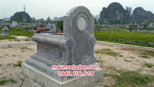 Mẫu mộ không mái đẹp