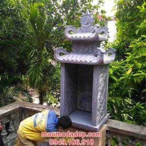 Cây hương đá-Lắp cây hương đá tại chùa Thanh Am