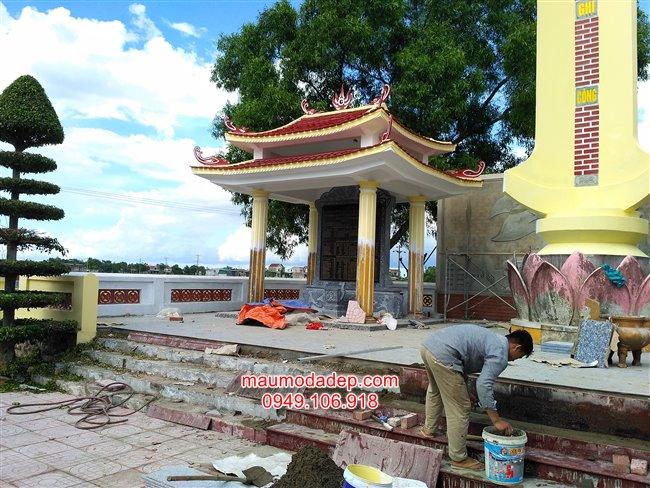 Mẫu bia đá liệt sĩ - Lắp bia đá tại Hà Tĩnh