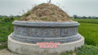 Mẫu mộ tròn đơn giản