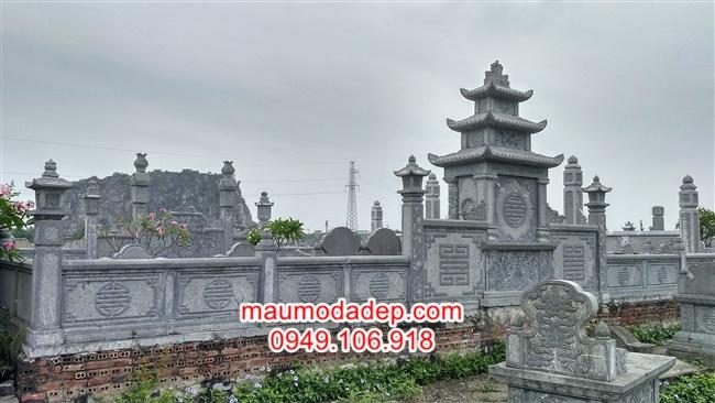 Hoa văn và kiến trúc khu lăng mộ