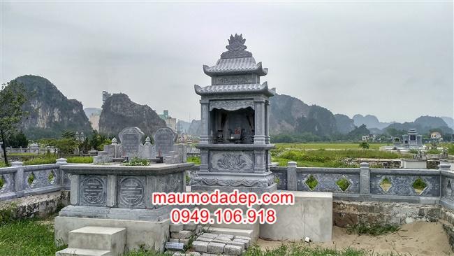 Làm lăng mộ đá đẹp tại Bắc Giang
