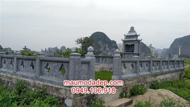 Lan can đá tại Bắc Giang