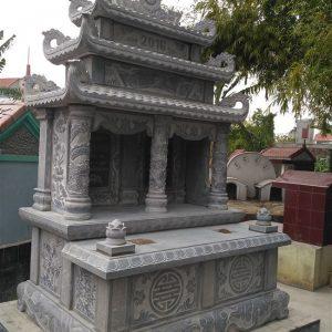 Mẫu mộ đôi đẹp lắp tại Hải Phòng