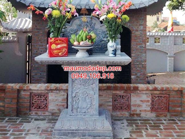Văn khấn bàn thờ thiên địa ngoài trời