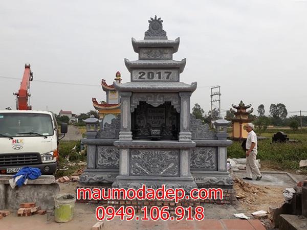 Mẫu lăng mộ đẹp 2018