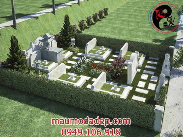 Bản vẽ thiết kế lăng mộ đá 05