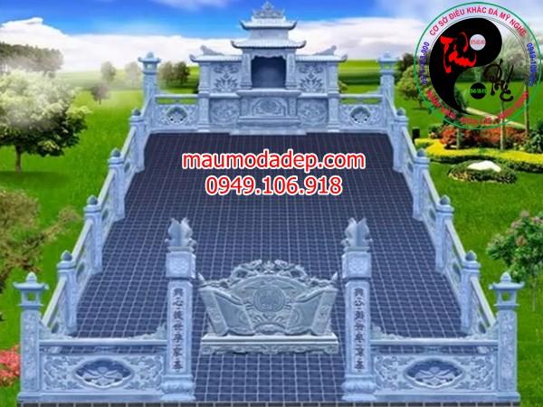 Bản vẽ thiết kế lăng mộ đá 12