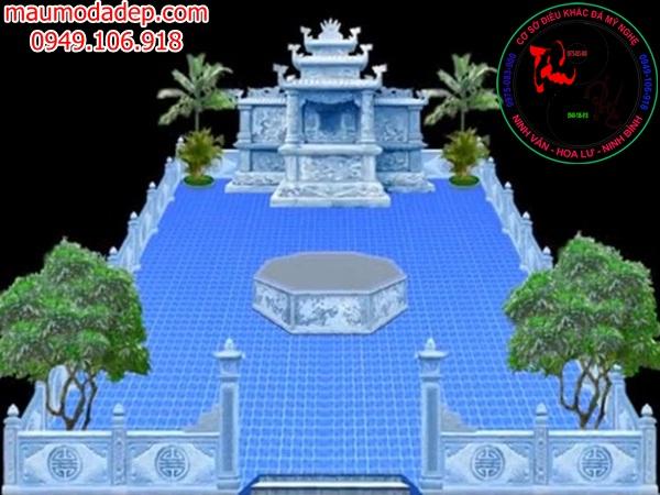 Bản vẽ thiết kế lăng mộ đá 13