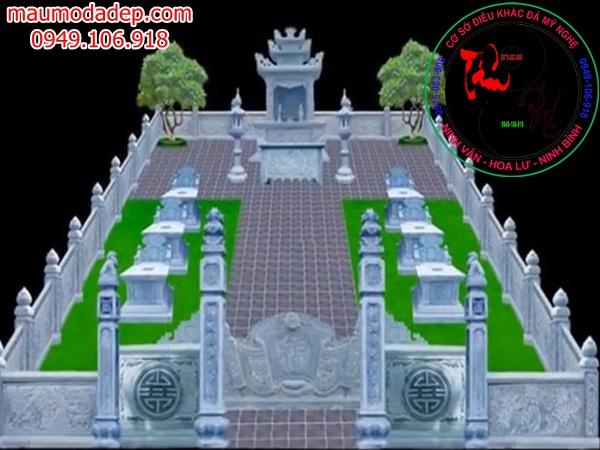 Bản vẽ thiết kế lăng mộ đá 14