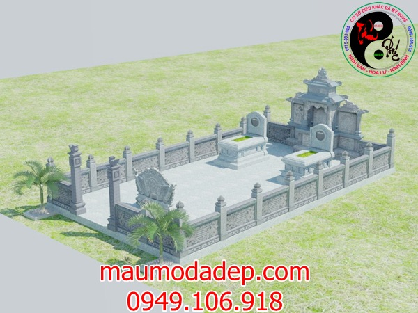 Bản vẽ thiết kế lăng mộ đá 18